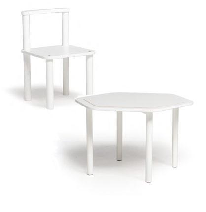 Tavolino e sedia